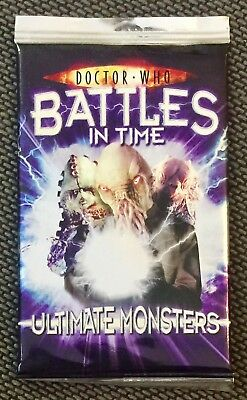 Doctor Who Battles In Time Ultimate Monsters Booster Pack (New & Sealed)