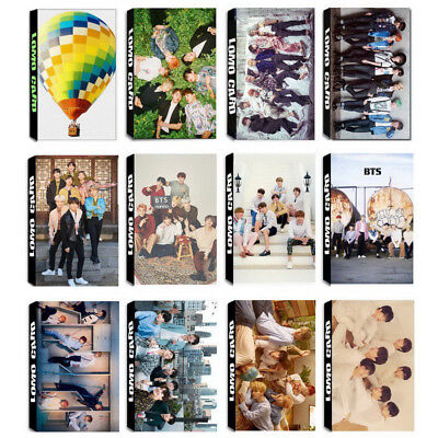 Lot of /set Kpop Bts Bangtan Boy Collective Posters Photo Card Lomo Card