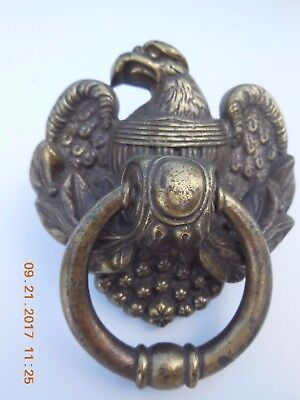 Vintage Federal Eagle Brass Door Knocker
