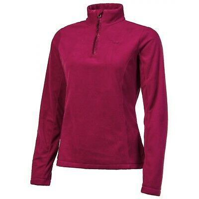 Polaire Protest Mutey 1/4 Zip Beet Red