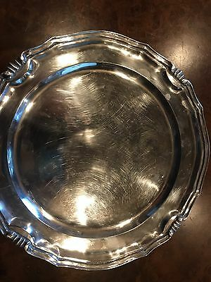 Vintage Sanborns Mexico Sterling Platter 12""