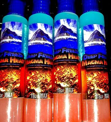 Fiery Jaxx 2 In 1 Deep Freeze & Magma Heat. Don't Buy If You Cry Easily.Very Hot