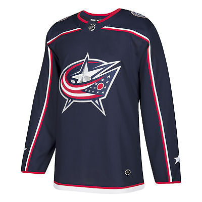 Columbus Blue Jackets Adidas NHL Men s Climalite Authentic Team Hockey  Jersey 8b1a117df