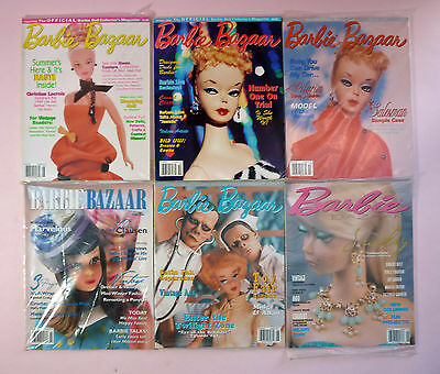 BARBIE BAZAAR - 6 ASSORTED ISSUES - FROM 1999 to 2006