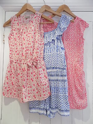 Next / F&F 3 all in one jumpsuit / playsuit size 8-9 9-10 10-11 years WORN ONCE