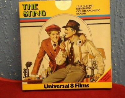 Universal Films The Sting   Super 8Mm Sound Film
