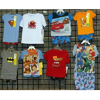 Boys infant and toddler licensed short sleeve pajamas [BSITLICPJ]