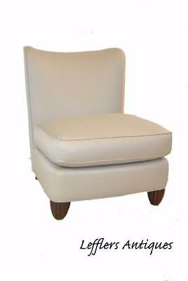 Modern Armless Slipper Chair By Barbara Barry For Baker Furniture