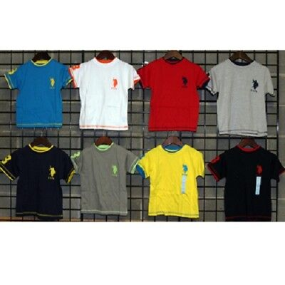 US Polo Assn Boys sizes 2T-4T embroidered short sleeve tees 36pc [BUSP24SST]
