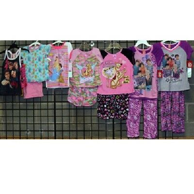 Licensed Girls 4-14 assorted short sleeve pajamas 36pcs. [GLIC414SPJ]