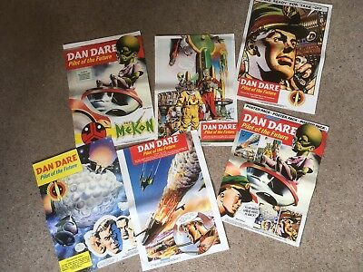 Eagle Dan Dare 6 Poster Set