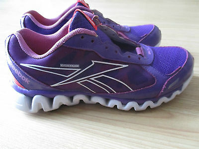REEBOK 3D FUSE FRAME ZIGLITE Purple/Pink/White Youth Size 5-Needs Laces