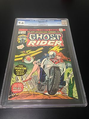 Ghost Rider #12 CGC 9.6 Off-White To White Pages Marvel Comics