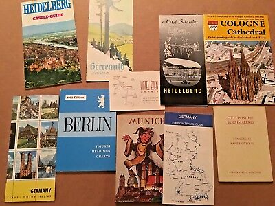 Lot of 11 Vintage Germany Travel Guides and Brochures (#18)