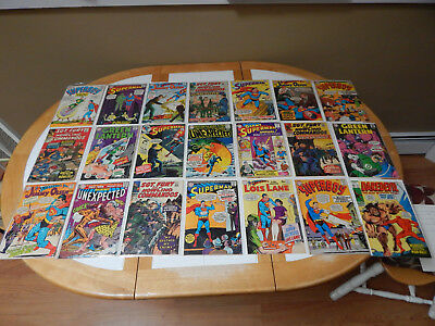 LARGE LOT Of 21 Silver Age Comics Mid-Grade Condition Lot # 1