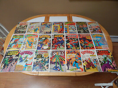 LARGE LOT Of 21 Silver Age Comics Mid-Grade Condition Lot # 2