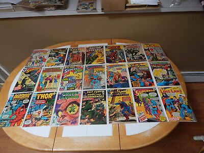 LARGE LOT Of 21 Silver Age Comics Mid-Grade Condition Lot # 3