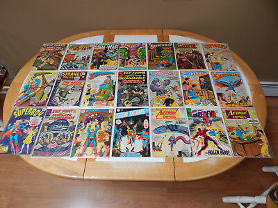 LARGE LOT Of 21 Silver Age Comics Mid-Grade Condition Lot # 4