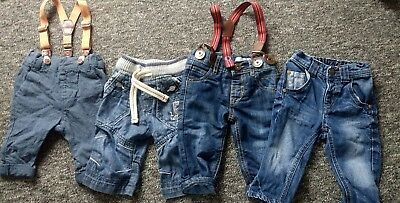 baby boy next  jeans bundle 3-6 months in excellent condition