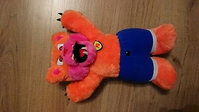 Vintage 80's hornby werebear growler working electronic soft toy