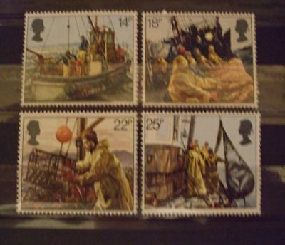 1981 - Gb Stamps - Fishing Industry - Mh