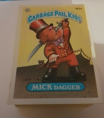 Garbage Pail Kids Series 5 US near complete 87 cards lot with variations