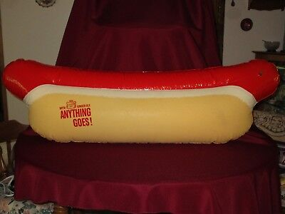 1969 Canada Dry Ginger Ale Inflatable Hot Dog!