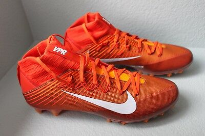 New Nike Vapor Untouchable 2 Football Cleats Men's 14, Orange