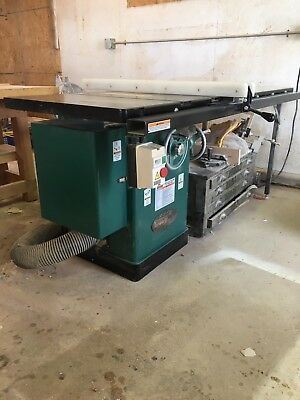 "(2009) G1023RLX Grizzly 10"" 3 HP 240V Cabinet Left-Tilting Table Saw"
