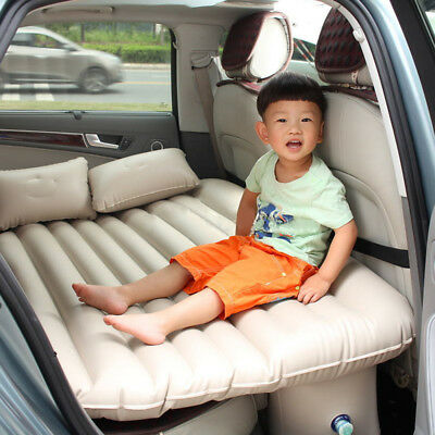 Car Travel Bed Back Seat Cover Inflatable Mattress  Inflatable Air Camping Bed