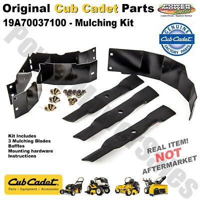 """Cub Cadet Replacement Mulching Kit for 48"""" Deck Mowers & Others / 19A70037100"""