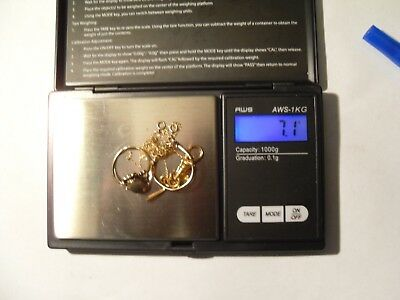 Lot Scrap Gold 10k Jewelry Wear/Scrap 7.1 Grams