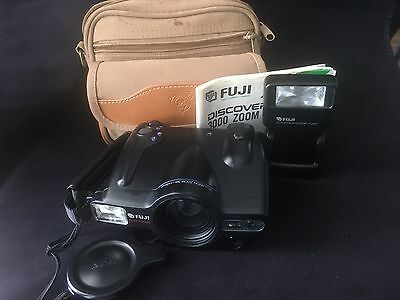 Fujifilm Discovery 3000 Zoom Film Camera 38-155 AF With Case