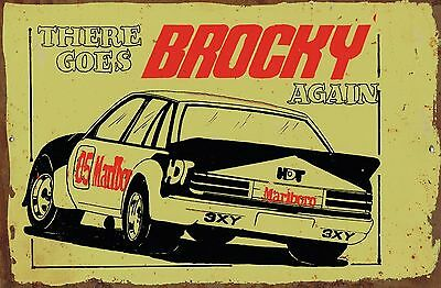 There Goes Brocky  Metal  Sign  20x 30 cm