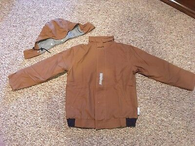 NSA Men's NEW FR Winter Jacket with detachable Hood Large