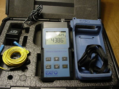 EXFO FOT-90A Power Meter UNUSED COND. WITH SC & TWO ADAPTERS