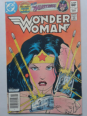 WONDER WOMAN # 297 (1982) DC COMICS - Masters of Universe - Huntress - Movie