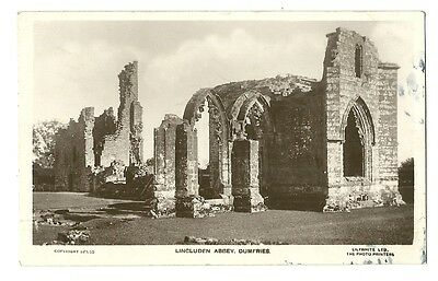 Dumfries - a photographic postcard of Lincluden Abbey
