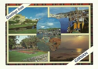 Girvan - a photographic multiview postcard