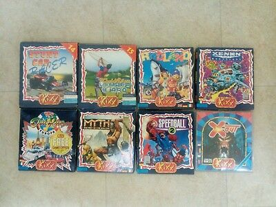 Kixx bundle for the Commodore Amiga. All tested & working