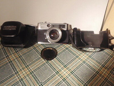 Yashica Lynx 5000 Camera Parts Or Repair.