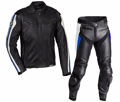 NEW BMW-Motorcycle/Motorbike Leather Racing,Jacket,Trouser,Suit Biker-MotoGp(Rep