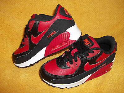 NIKE AIR MAX 90 GYM RED/BLACK/CRIMSON Running Shoes 724822-601 SIZE 11C