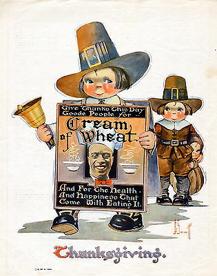 1923 Cream of Wheat ad  --by John G. Scott--/127