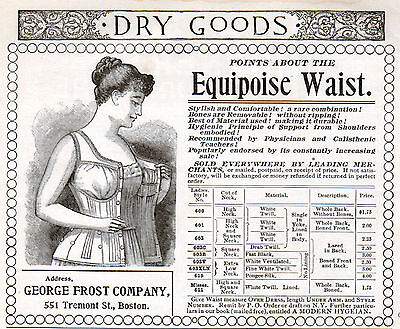 1905 Equipoise Waist Support ad -l-405