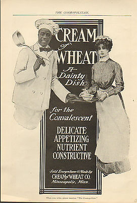 "1906 Cream of Wheat cereal ad ""For the convalescent""--/177"