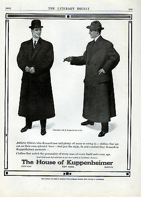 1909 House Of Kuppenheimer ad clothing ad -0-229