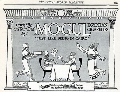 1915 Mogul Egyptian Cigarette ad --p-517