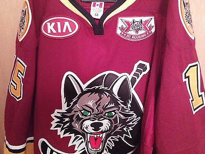 Chicago Wolves Game worn jersey AHL. 20th season