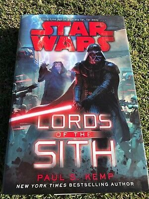Star Wars Lord of the Sith By Paul S Kemp FIRST EDITION Hardcover